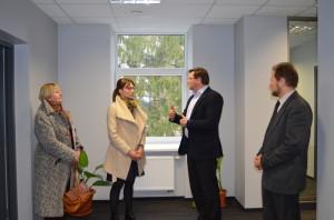 Pirmą kartą Linksmakalnyje  Europos Parlamento narės vizitas